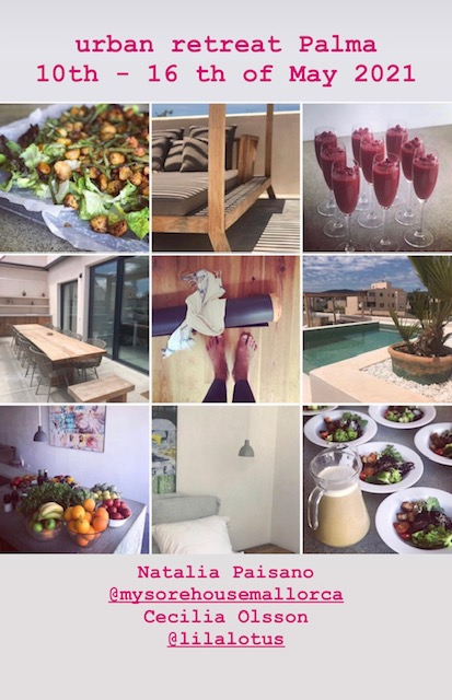 Ashtanga Yoga Mallorca resa Natalia Paisano